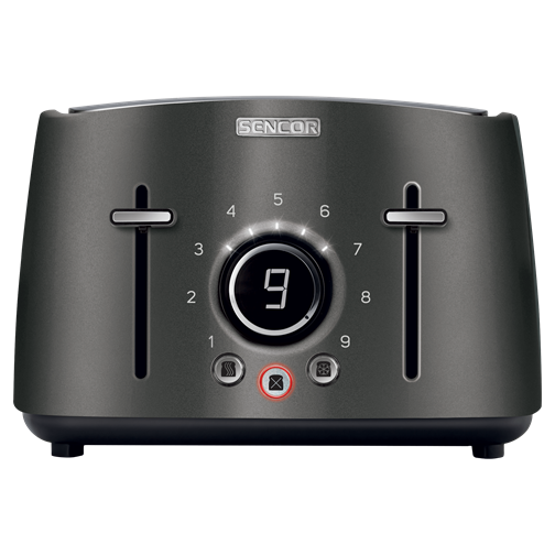 STS 6078BK Electric Toaster