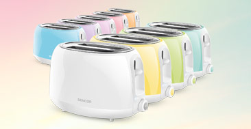 Pastels Collection Electric Toasters